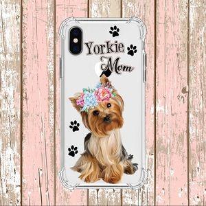 iPhone XR Custom Made Yorkie Mom